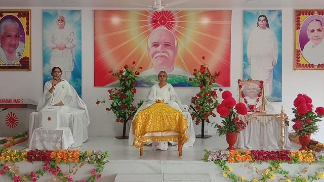 सावनेर में 9 अप्रैल सद्गुरुवर और दादी जानकी जी के निमित्य बापदादा को भोग लगाया गया